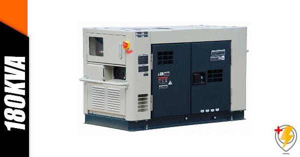 Aluguel Gerador de Energia 180 KVA